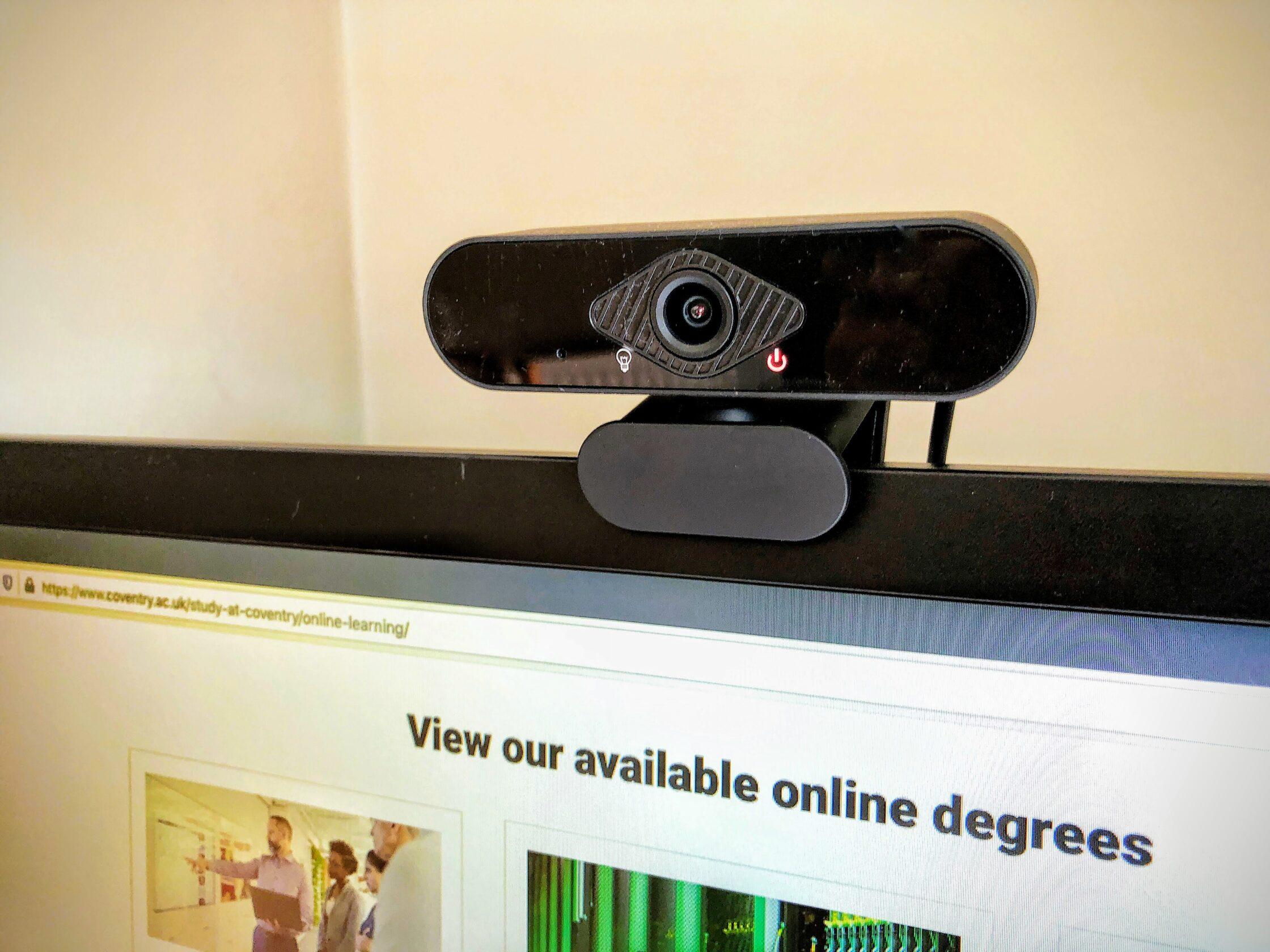 Photo of a webcam